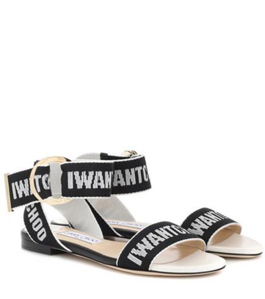 Jimmy Choo Breanne sandals in black
