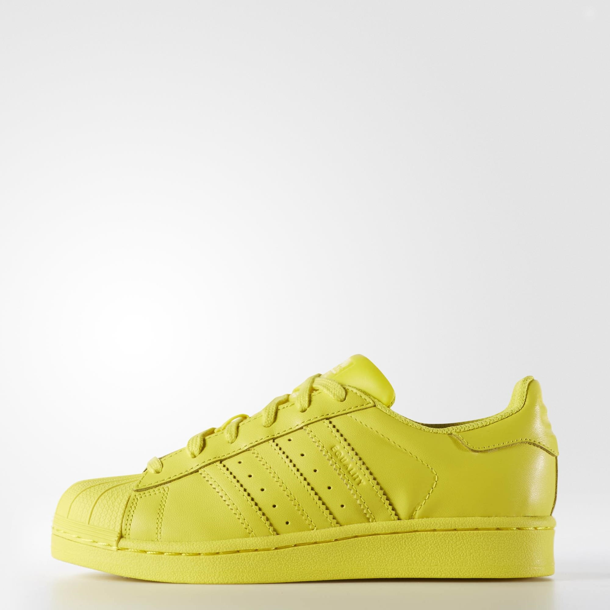 best sneakers c1622 89af4 adidas Superstar Supercolor Shoes - Yellow  adidas US
