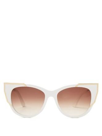 sunglasses white