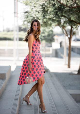 themilleraffect blogger dress bag shoes jewels sandals high heel sandals summer outfits summer dress
