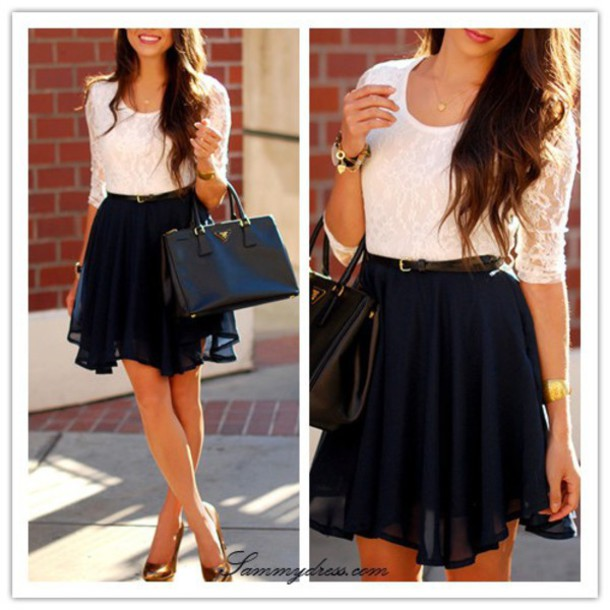 top skirt jewels shoes dress