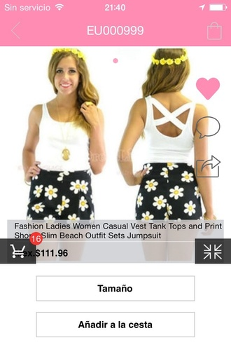 shorts daisy flowers hipster chic