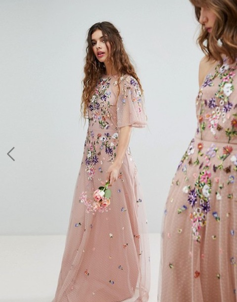 dress bridesmaid prom dress