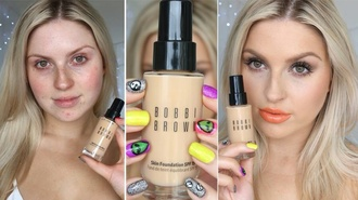 make-up bobbi brown foundation beauty