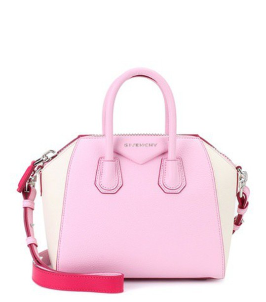 Givenchy mini bag shoulder bag leather pink