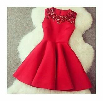 dress red dress mini dress diamond dress red