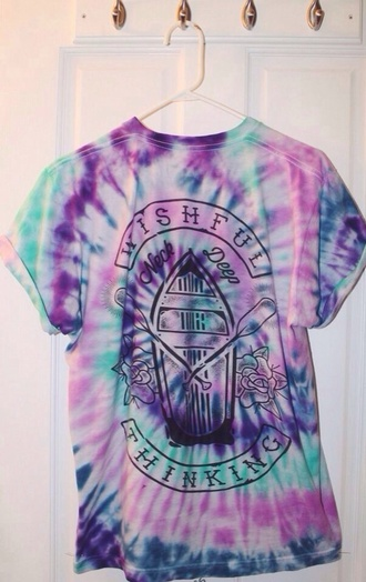 tie dye colorful band amazing hippie t-shirt