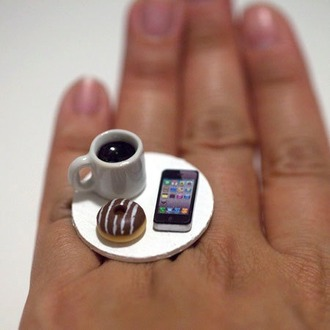 jewels coffee ring
