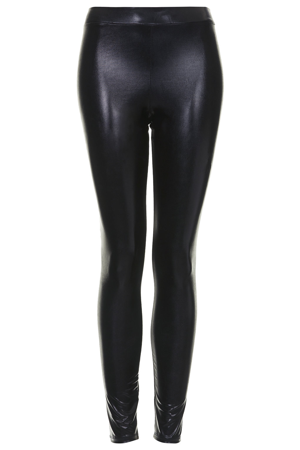 Shiny wetlook legging