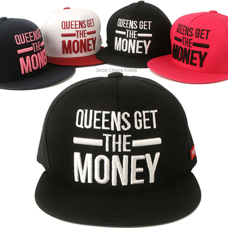 90b1c1cda16 New Queens Get Snapback Hat KPOP Men Women Fashion Baseball ...