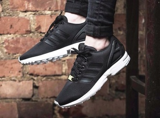 shoes black adidas