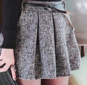 skirt,grey,office outfits