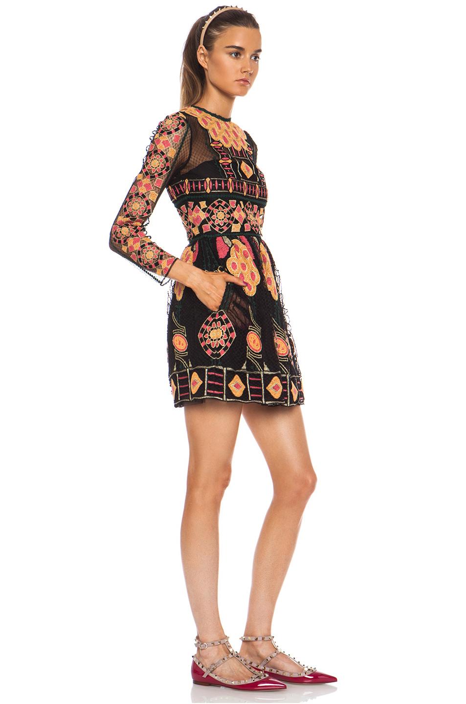 Valentino|Bambolina Polyamide Skirt Dress in Black