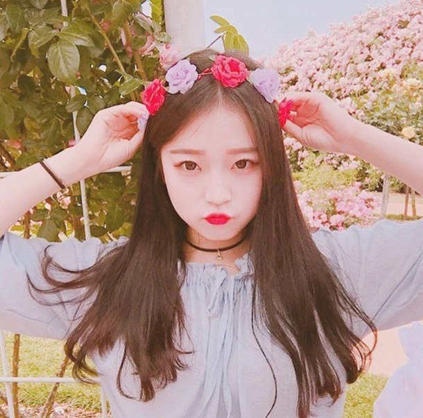 Hair accessory flowers floral pink light pink rose cute hair accessory flowers floral pink light pink rose cute pretty girly girl korean fashion kpop bright voltagebd Image collections