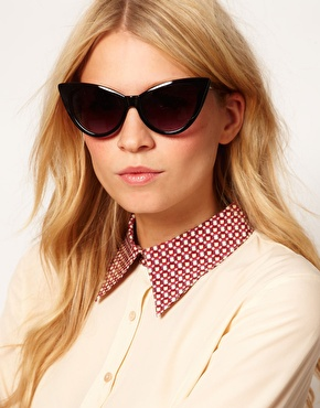 ASOS | ASOS Cat Eye Sunglasses at ASOS