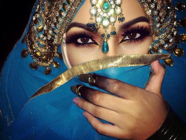 scarf abaya