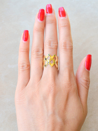 jewels ring gold gold rings gold ring geometric geometric ring crown crown ring gold crown ring