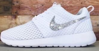 shoes hotline bling bling diamonds cute nike white
