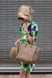 dress,green,purple,summer,summer dress