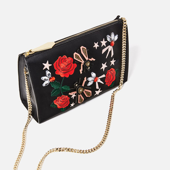 114efdb237e EMBROIDERED CLUTCH - View all-BAGS-WOMAN   ZARA United ...
