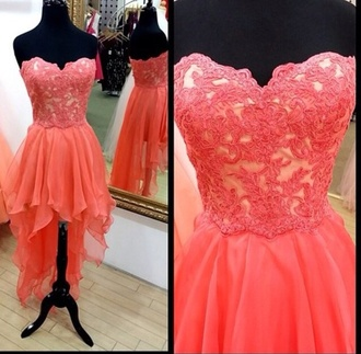 dress high-low dresses pink dress cute dress omg dress prom dress prom dresses high low