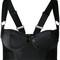 Bordelle - longline bodice bra - women - silk/spandex/elastane - l, black, silk/spandex/elastane
