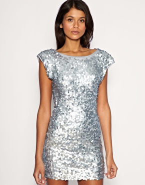 Silver Sparkly Dress