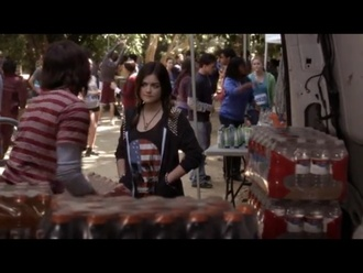 jacket aria montgomery lucy hale pretty little liars studs sweater