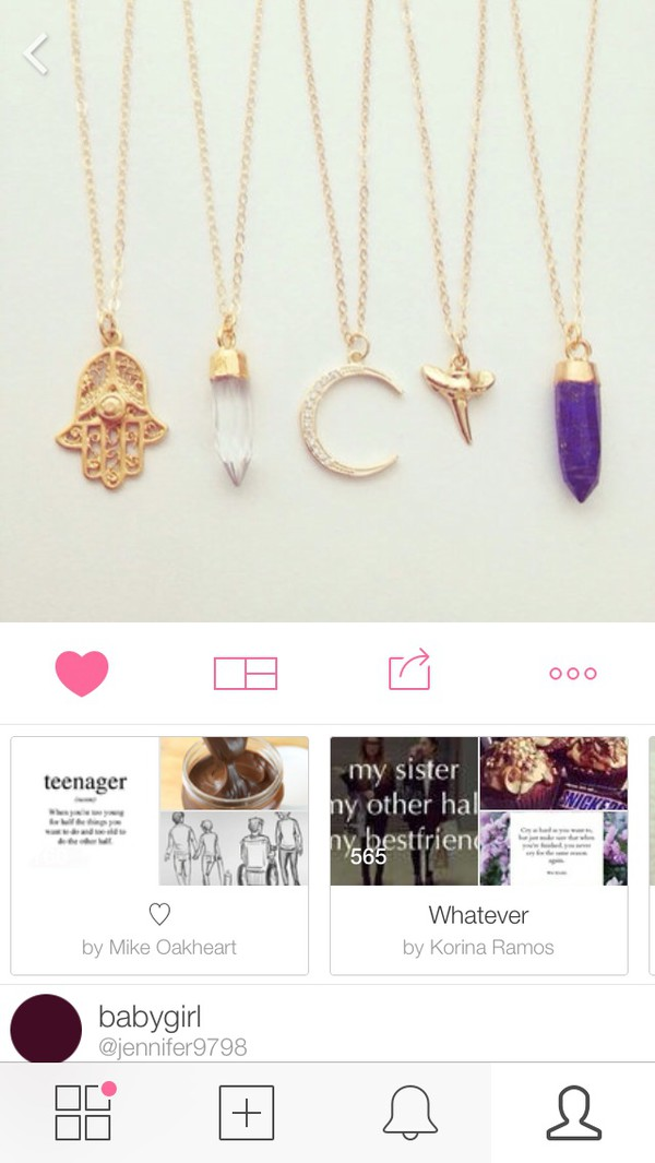 jewels necklace indie hipster instagram dope