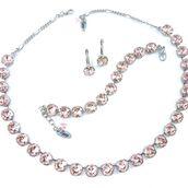 jewels,siggy jewelry,swarovski,necklace,jewelry,bracelets,earrings,vintage rose,blush,blush pink,light pink,blush wedding,bridal,wedding,sparkle,glamgerous,bling,fashion,trendy,chic,elegant,beauty fashion shopping