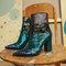 Botín de tacón lentejuelas - botines - calzado - uterqüe españa