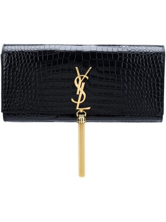classic clutch black bag