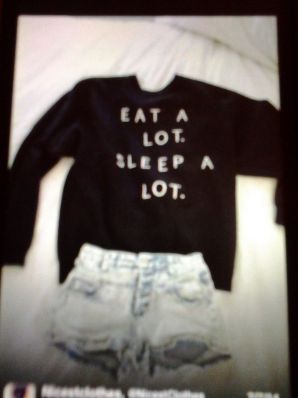 food simple sweater food clothing