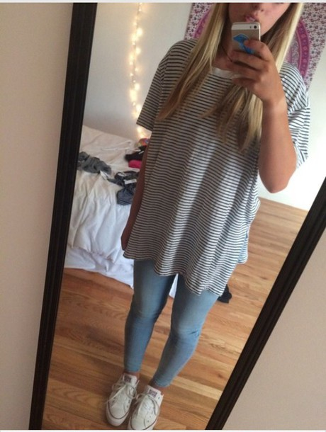 Shirt t shirt t shirt loose comfy fall outfits for T shirt dress outfit tumblr