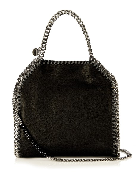 Stella McCartney cross mini bag suede black