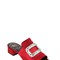 40mm swarovski satin slide sandals