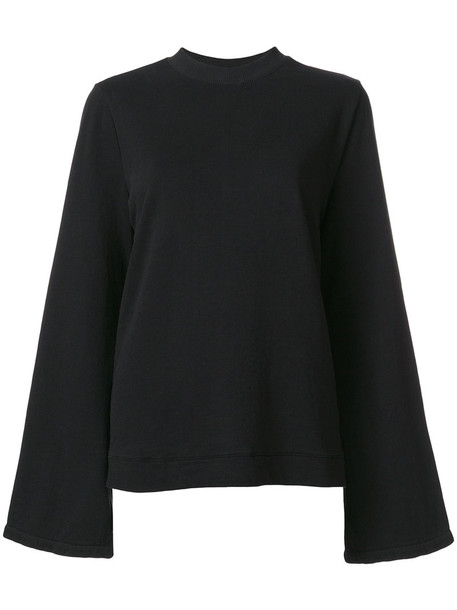 jumper women cotton black sweater