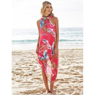 dress beach summer trendy maxi dress pattern spring rosewholesale.com jewels choker necklace black choker necklace jewelry