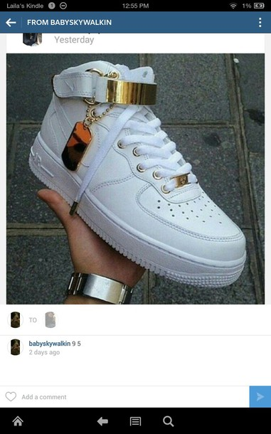 shoes white air force ones