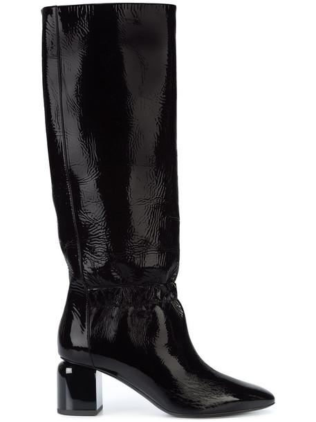 Pierre Hardy women leather black shoes
