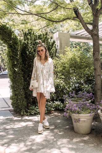 fashionmews blogger dress shoes jewels bag platform shoes mini dress shoulder bag summer outfits