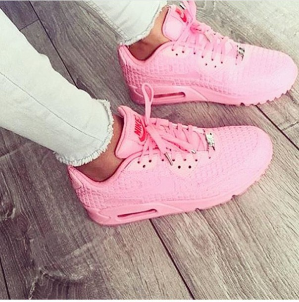 official photos b7e80 54811 shoes pink nike urban urban pastel pink light light pink baby baby pink  nike air force