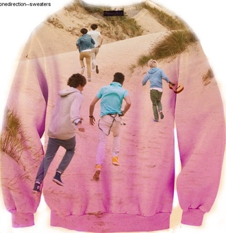 sweater one direction one direction sweater printed sweater
