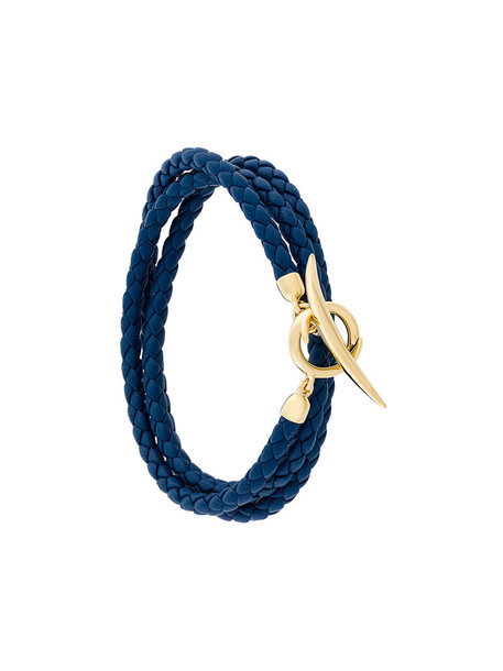 women gold silver leather blue jewels