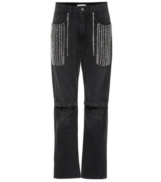 Christopher Kane Embellished jeans in black
