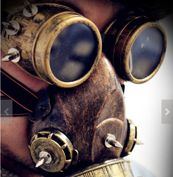 retro steampunk gothic nail accessories