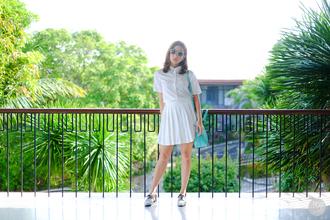 kryzuy blogger skirt sunglasses shoes bag jewels