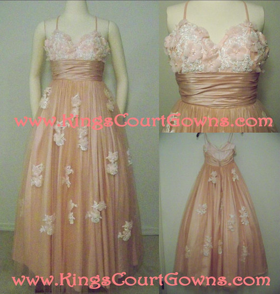 Replica beaded champagne peach backless taffeta wedding prom quinceanera pageant dress gown