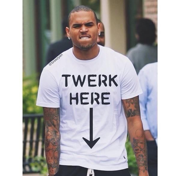 menswear chris brown twerk twerk boyfriend tshirt dope style streetstyle tumblr outfit