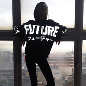 hoodie,misbhv,future,dark,futurehoodie,black and white